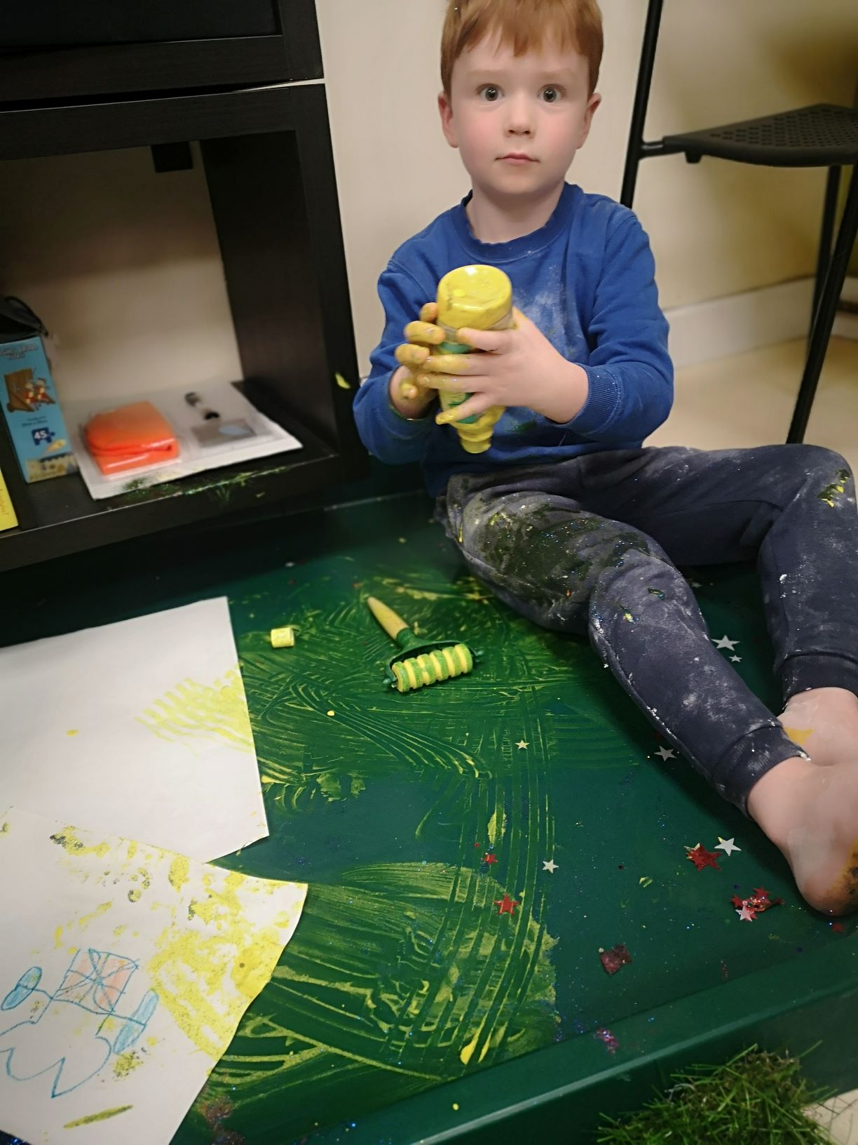 Messy Play Service by Twigs