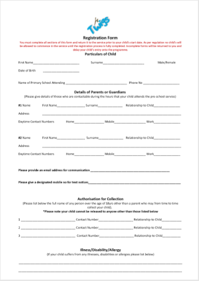 twigs registration form pdf